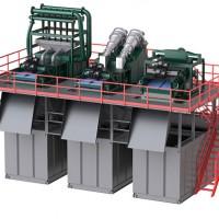 KDS-500盾构泥水处理系统