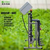 手动施肥机视频指导 农业灌溉大棚蔬菜浇水简易两通道水肥一体机